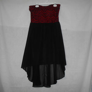 Almost Famous Party Dress Size L High-Low